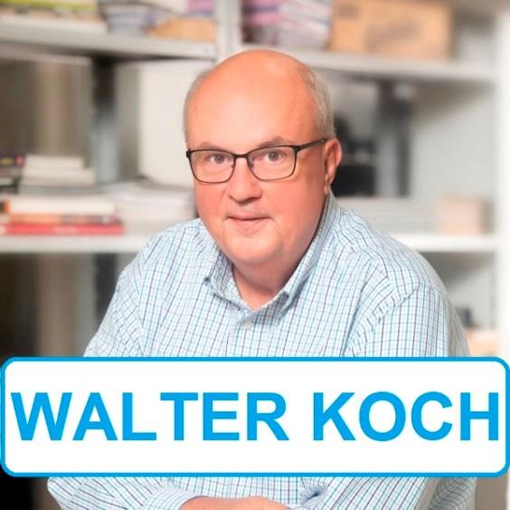 Conhece Walter Koch? Ele influencia sua vida de várias maneiras, acaba de ganhar um prêmio internacional e conta ótimas histórias