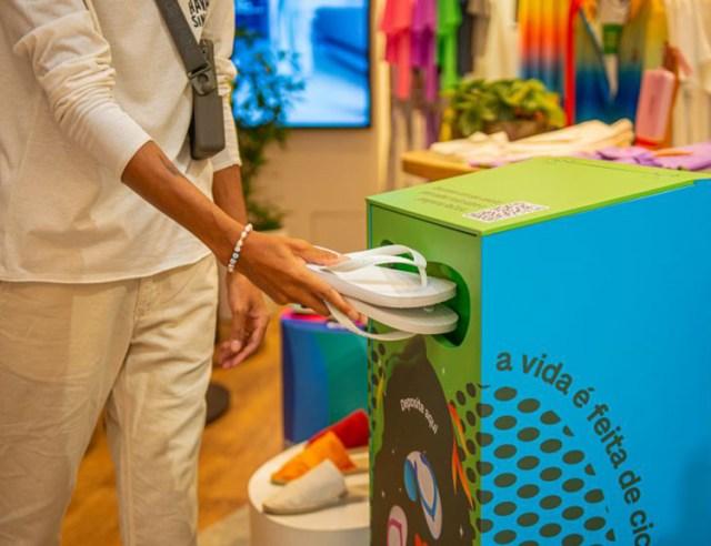 ReCiclo: Havaianas dá destino sustentável a sandálias descartadas por consumidores