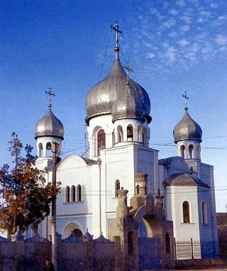 Храм иконы Феодоровской Божией Матери в Бахчисарае.