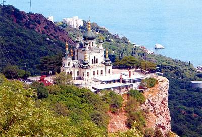 Воскресенский храм в Форосе.