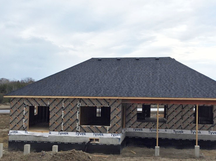 Residential roofing by Vidan Roofing - a roofing contractor specializing in residential & commercial roofing in Cobourg and Port Hope