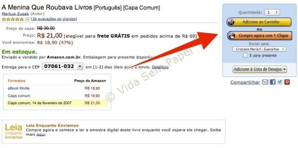 Amazon vende livros impressos 06