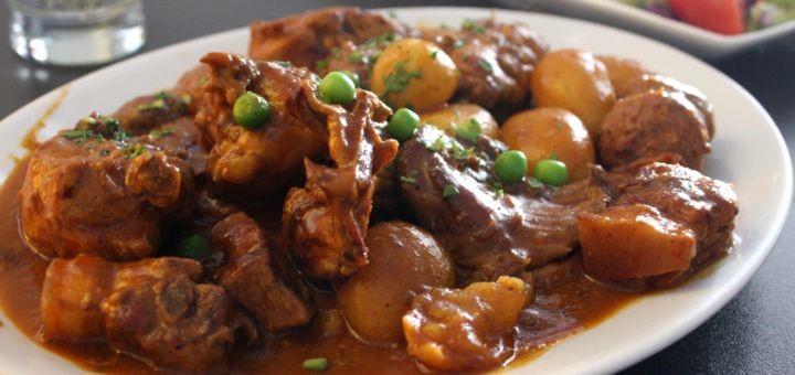 Um dos pratos típicos malteses