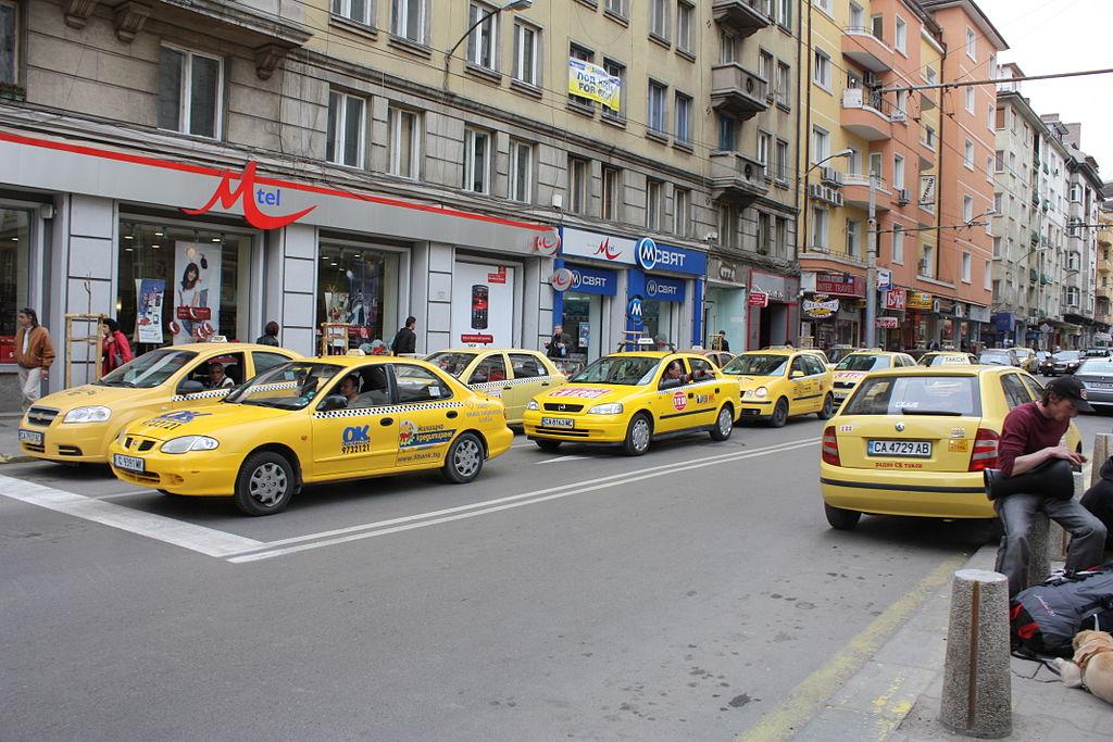 Táxis em Sófia