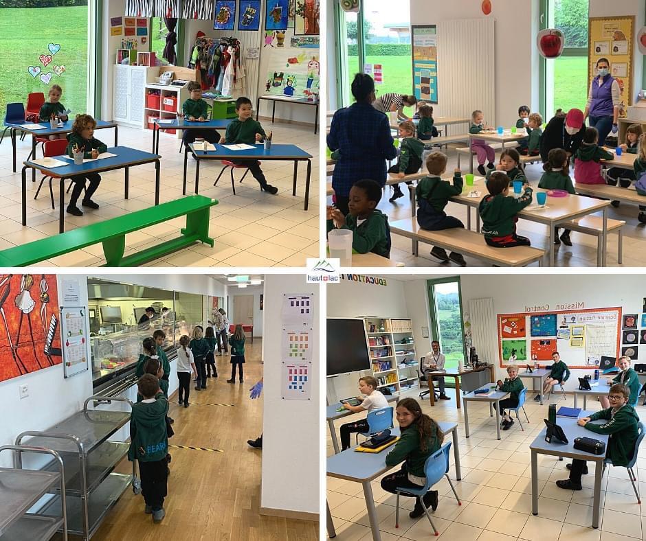 O regresso às aulas na Suiça