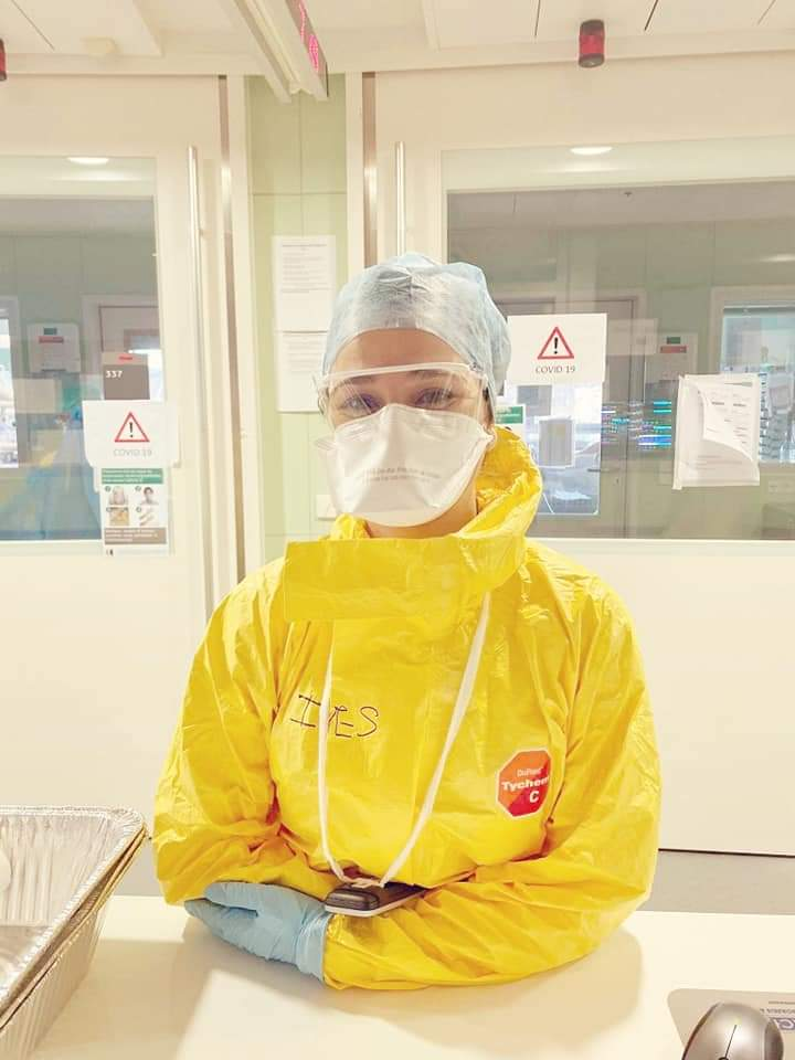 Enfermagem, a admiração pelos meus colegas que permanecem em Portugal