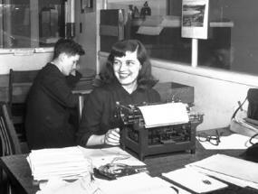 Mavis Gallant, image courtesy of Library and Archives Canada