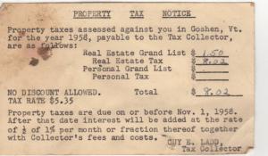 property taxes_1958