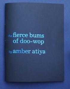 Amber Atiya Cover the fierce bums of doo-wop