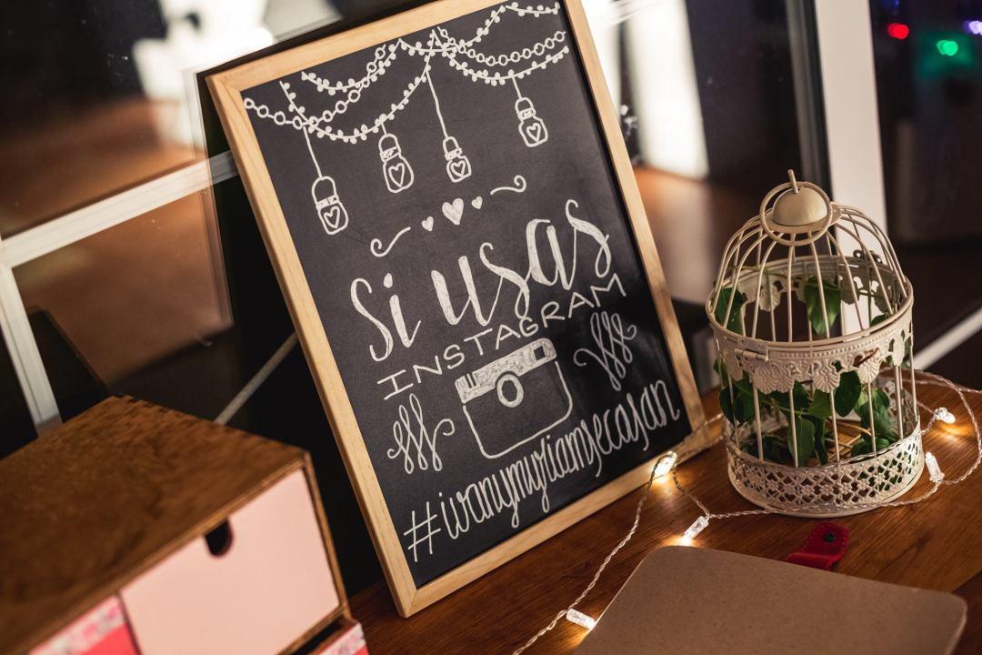 Diy pizarras para decorar tu boda vida y bodas - Pizarras para decorar ...