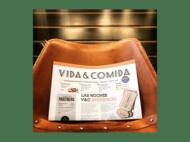 Flayer Vida&Comida Salamanca