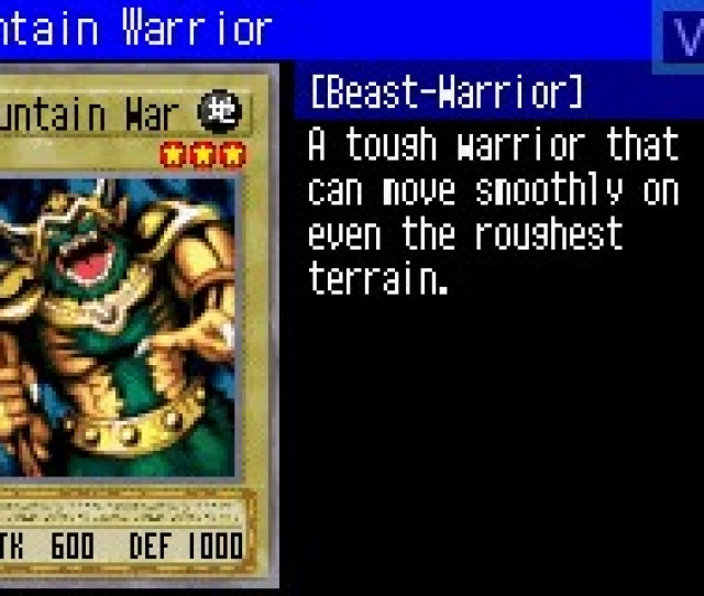 In Game Screen Of The Game Yu Gi Oh Worldwide Edition