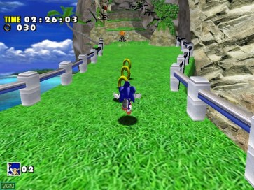 Sonic Adventure DX - Director's Cut gameplay Dreamcast Collection
