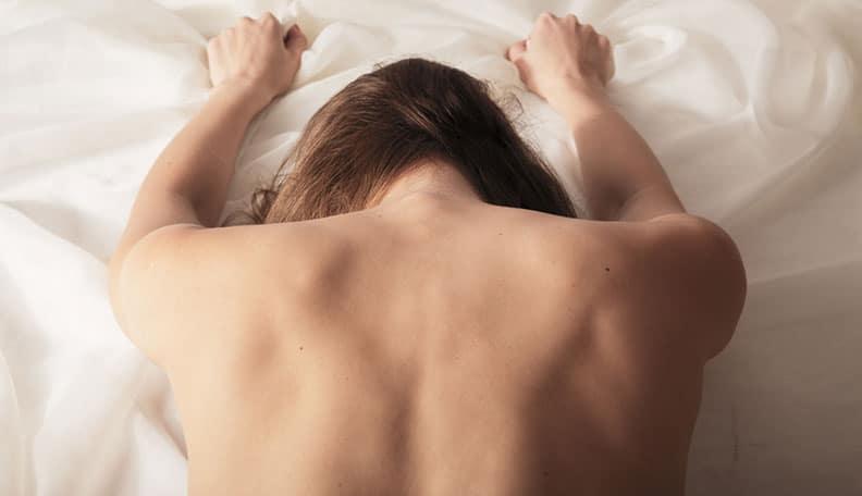 Femmes vue sur le sexe anal