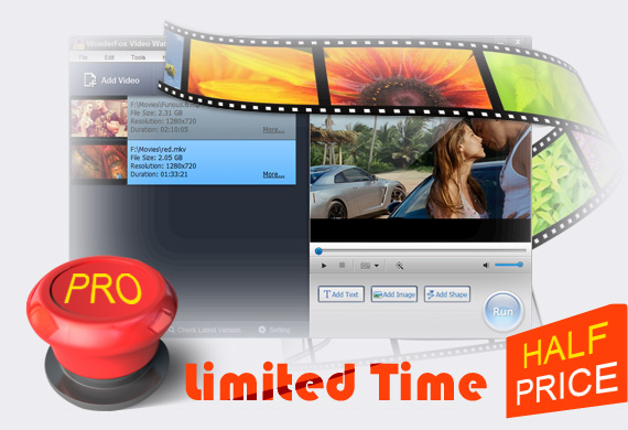 Video Watermark Pro Half Price