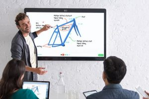 Cisco Spark Board with digital whiteboarding