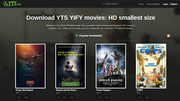 How to Download YIFY Movie Torrents and Play on iPhone/iPad
