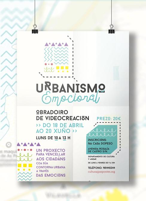 Urbanismo emocional. Obradoiro de videocreación