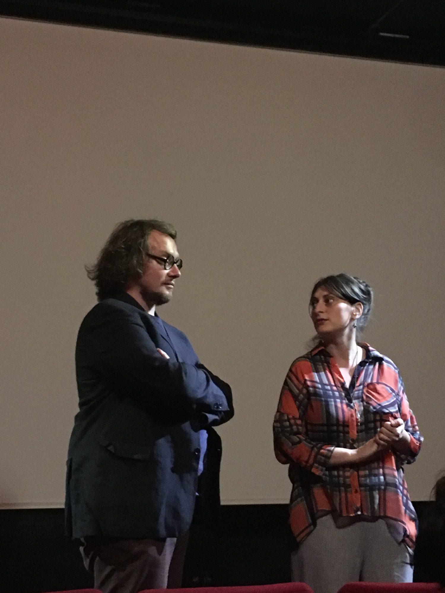 Federico Rossin et Claire Lasolle