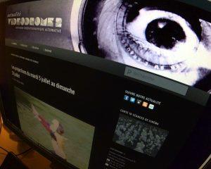 Ancien agenda cinéma de Videodrome 2 à Marseille