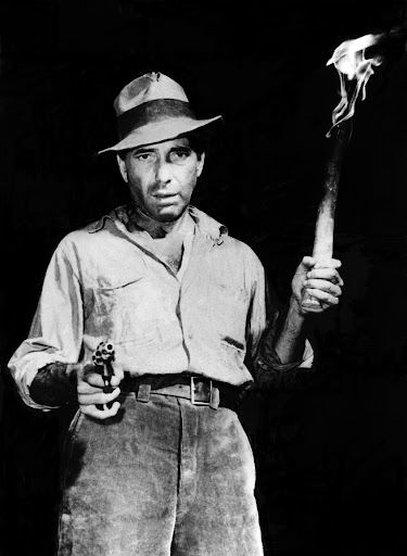 HUMPHREY BOGART, as seen in the film Treasure of the Sierra Madre, 1948
