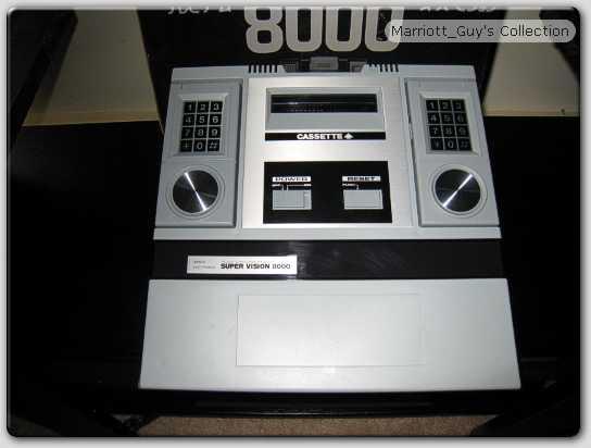 Bandai SuperVision 8000 Intellivision Aquarius