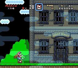 Captura del v�deo que aparece cuando entras en las casas fantasma.
