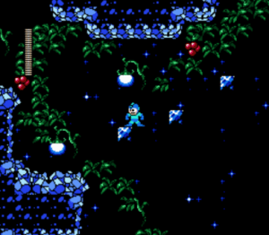 Rockman No Constancy has some of the most gorgeous 8-bit graphics I've ever seen!