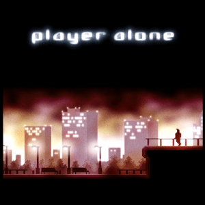 I totally love the album cover for Player Alone. It really fits the mood of the album perfectly.