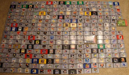 Rare Games Spotted  A Complete N64 Collection     Video Game Museum     As