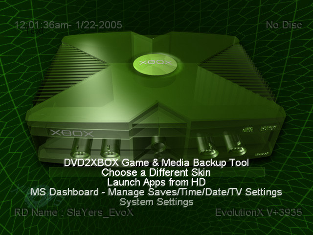 Xbox Dashboards Video Game Obsession C 1996 Present