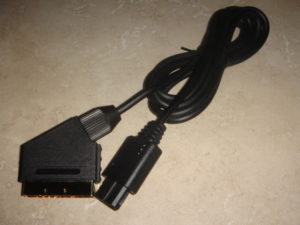 Pure sync SCART cable for SNES