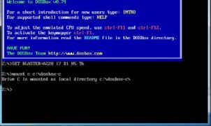 Mounting a C drive in DOSBox