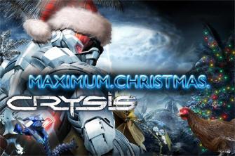 Crysis Maximum Christmas wallpaper