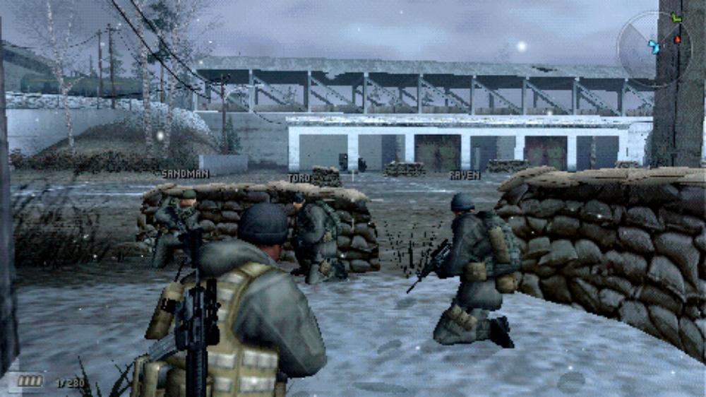 SOCOM US Navy SEALs Fireteam Bravo 3 Wallpaper