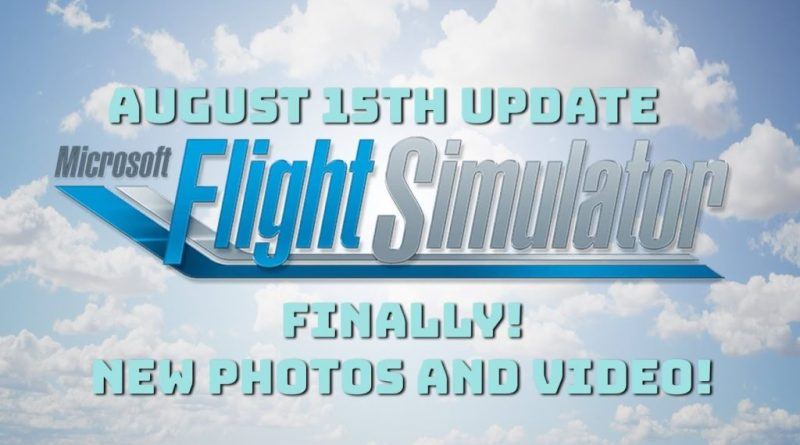 Flight Simulator update