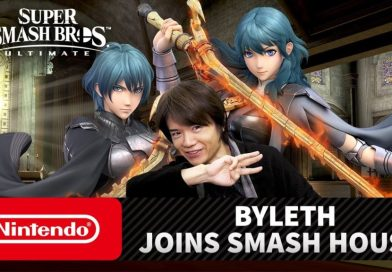 Super Smash Bros Ultimate. Byleth Joins the Fight
