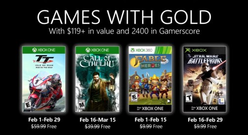 games with gold for february
