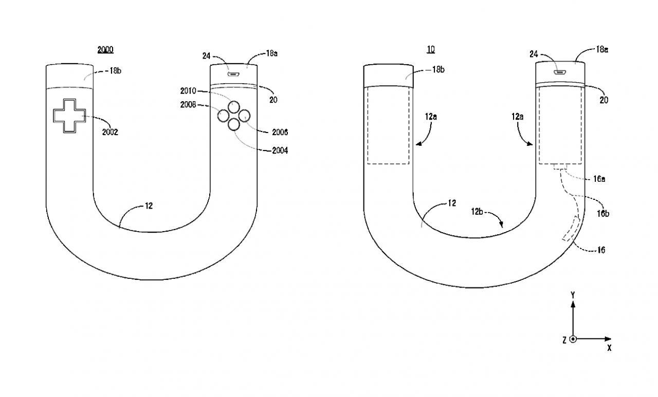 Nintendo Nx Patent Mit Hufeisen Controller Aufgetaucht