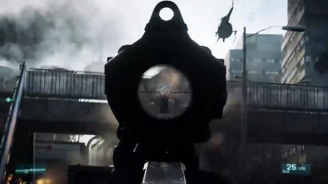 Sniper verraten sich in Battlefield 3 durch Reflexionen ihres Zielfernrohres, wie DICE bekannt gegeben hat. Damit soll das Spielen einer Klasse anspruchsvoller werden.