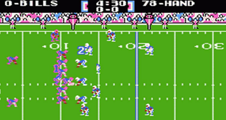 Image result for tecmo super bowl
