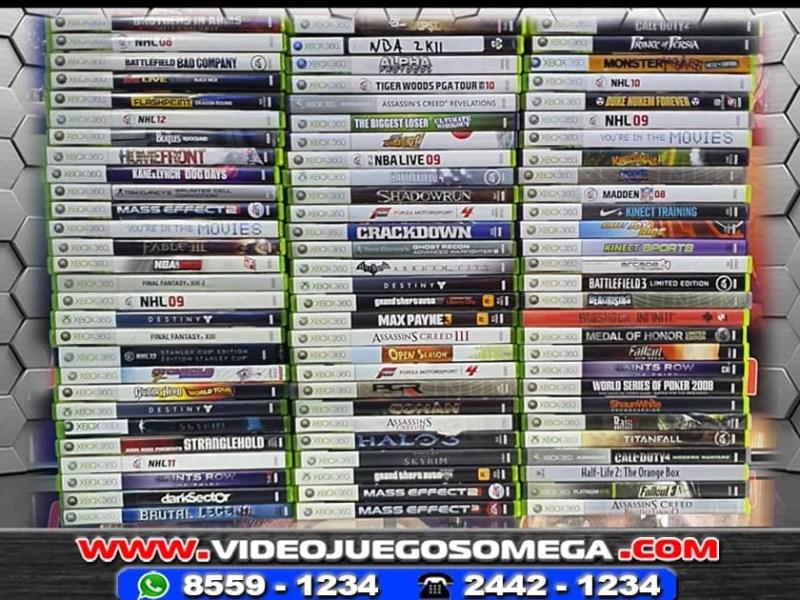 Juegos Xbox 360 Usados
