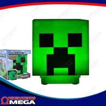 Lampara Creeper Minecraft