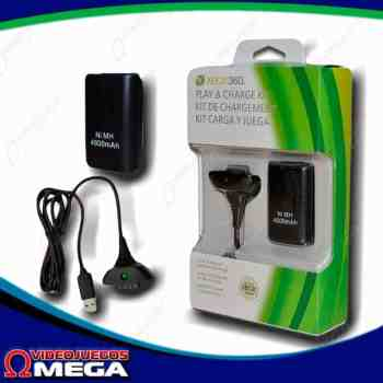 Bateria + Cable Xbox 360