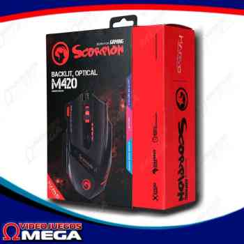 Mouse Gamer Scorpion USB