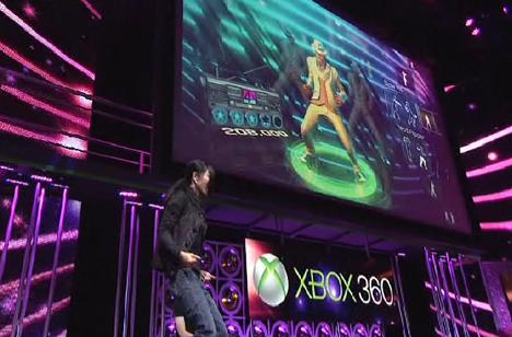 Los videojuegos para Kinect