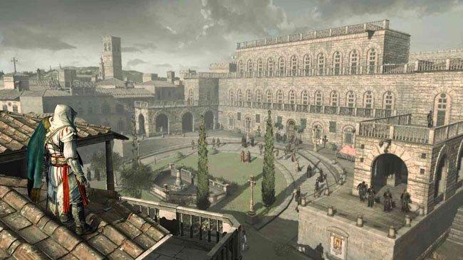Assasin's Creed: La Hermandad, para PS3, y sus bugs.