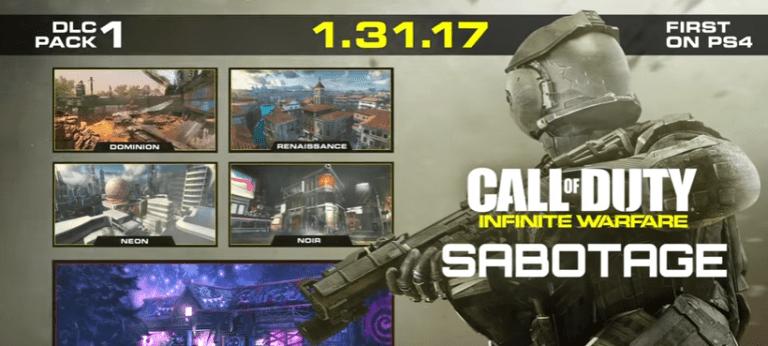 Sabotage, el primer DLC de Call Of Duty: Infinite Warfare