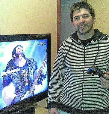 Unai Landa trabaja en videojuegos como Afterpulse y The Respawnables