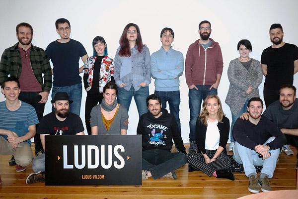 Equipo de desarrollo de la empresa Ludus